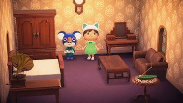 Interior of Yuka's house in Animal Crossing: New Horizons