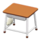 School Desk (Brown & White) NH Icon.png