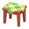 Wooden Mini Table (Cherry Wood - Green) NH Icon.png