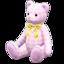 Giant Teddy Bear (Checkered - Giant Stripes)