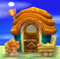 Leopold's house exterior