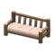 Log Extra-Long Sofa (Dark Wood - None) NH Icon.png