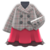 Peacoat-and-Skirt Combo (Red) NH Icon.png