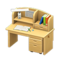 Study Desk (Natural) NH Icon.png