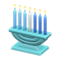 Celebratory Candles (Blue) NH Icon.png