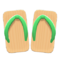 Kimono Sandals (Green) NH Icon.png