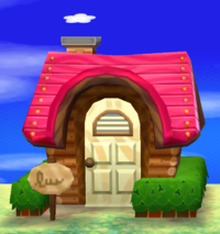 Maddie's house exterior