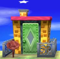 Soleil's house exterior