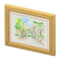 Mom's Art (Street with Trees) NH Icon.png