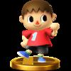 Villager SSB4 Trophy (Wii U).png