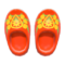 Wooden Clogs (Red) NH Icon.png