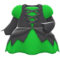 Mage's Dress (Green) NH Icon.png