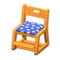 Study Chair (Light Brown - Blue) NH Icon.png