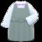 Box-Skirt Uniform (Gray) NH Icon.png