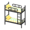 Bunk Bed (Black - Colorful Lines) NH Icon.png