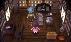 Beardo's house interior