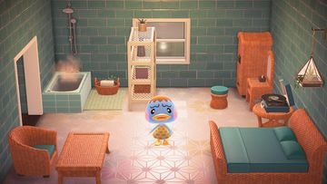 Interior of Pate's house in Animal Crossing: New Horizons
