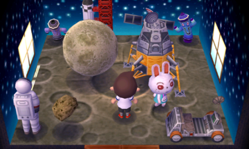 Interior of Ruby's house in Animal Crossing: New Leaf