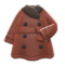 Pleather Trench Coat (Brown) NH Icon.png