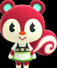 Poppy, an Animal Crossing villager.