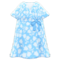 Casual Chic Dress (Light Blue) NH Icon.png