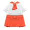 Chef's Outfit (Orange) NH Icon.png