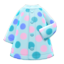 Dotted Raincoat (Light Blue) NH Icon.png