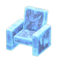 Frozen Chair (Ice Blue) NH Icon.png