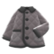 Quilted Down Jacket (Gray) NH Icon.png