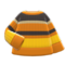 Colorful Striped Sweater (Orange, Yellow & Black) NH Icon.png