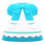 Fairy-Tale Dress (Light Blue) NH Icon.png