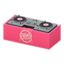 DJ's Turntable (Pink - Cute Logo)