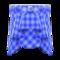Draped Skirt (Blue) NH Icon.png