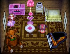 Bunnie's house interior