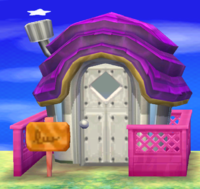 Ruby's house exterior