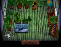 T-Bone's house interior