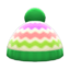 Colorful Striped Knit Cap