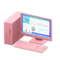 Desktop Computer (Pink - Calculations) NH Icon.png