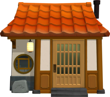 Exterior of Rory's house in Animal Crossing: New Horizons