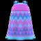Zigzag-Print Dress (Purple) NH Icon.png