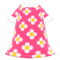 Blossom Dress (Pink) NH Icon.png