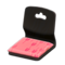 Floor Seat (Black - Peach) NH Icon.png