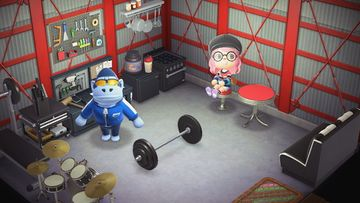 Interior of Peewee's house in Animal Crossing: New Horizons
