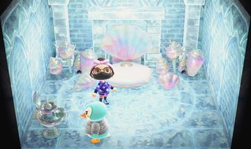 Interior of Sprinkle's house in Animal Crossing: New Horizons