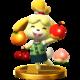 Isabelle SSB4 Trophy (Wii U).png