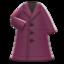 Long Pleather Coat
