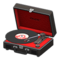 Portable Record Player (Black) NH Icon.png