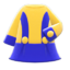 Retro A-Line Dress (Blue) NH Icon.png