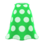 Simple-Dots Dress (Green) NH Icon.png