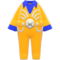 Star Costume (Yellow) NH Icon.png